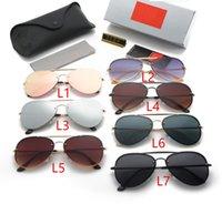 أزياء الرجال الرجعية aviator النظارات الشمسية النساء الكلاسيكية الطيار الرياضة hd الاستقطاب نظارات الشمس الضفدع مرآة جودة عالية القيادة نظارات للجنسين WX39