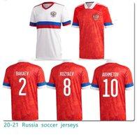 2021 2022 روسيا Soccer Jerseys Home Away 10 # Arshavin Miranchuk 18 # Zhirkov erokhin 23 # Kombarov Smolov كرة القدم قميص
