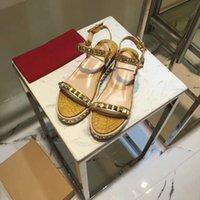 Summer designer donna piattaforma sandali con tacchi alti tacchi alti borchietto rosso bottom sandalo sexy donna moda argento glitter-coperto di pelle sizguxi #
