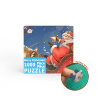 Customized Adult Shap Paper Toy Box Game 500 1000 Piece Jigsaw PuzzleTBBD