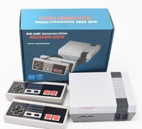 New Arrival Mini TV can store 620 500 Game Console Video Handheld for NES games consoles with retail boxs dhl UPS Free