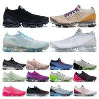 vapormax plus 3.0 plus  zapatillas de correr para hombre triple negro blanco rosado Vino para mujer deportes zapatillas deportivas Respirable moda vintage tamaño 36-44