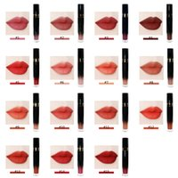 Özel Etiket Güzellik Kozmetik Makyaj Dudak Parlatıcısı Rujlar Özel Hiçbir Logo Su Geçirmez Kadife Mat Sıvı Ruj Lipgloss 3 ADET Set için Set 15 Renkler