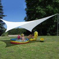 W160-4060 Quadrilateral Outdoor Awning Sun Shelter PU Polyester Fabric Summer Canopoy Shade Tent Beach Camping Tents And Shelters