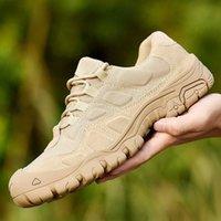 Homens Botas de Combate Militar Botas À Prova D 'Água Caminhadas Tênis de Trabalho Exército Exército Tático Respirável Homem Sneakers Desert