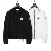 Мужские дизайнеры Куртка Одежда Мужчины Женщины Напечатаны Хаудяд Человек Случайный стилист Куртки Зимние Пальто Азиатский Размер M-XXXL