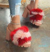 Обувь для одежды Seashy Sexy Party High Cable Sandals Mur женская 2021 Shipper каблуки платформа Furry Night Club плюс размер женщина