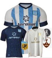 2021 2022 Racing Club Soccer Jerseys Fertoli Churry Rojas Barbona Cvitanich 21 22 الصفحة الرئيسية قميص كرة القدم الثالث