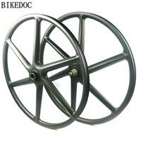 عجلات الدراجة Bikedoc الكربون 6 تكلم عجلة 1.0 و 2.0 MTB XD هيئة 29er دراجة دراجة لايحتاج