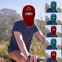Squid Game Headgear Mask COS Cosplay Outdoor Riding Face Cover Korean TV Series Fashionable Ski Hat Designer Masks LLA9404