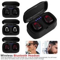 A7 TWS Mini Wireless Bluetooth Headphone Twins Stereo Headset Handsfree True HIFI Sports Earbuds With Charging Box In Ear Earphone For Phone 20pcs DHL
