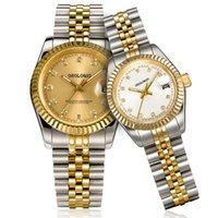 Erkek Saatler 36/41mm Otomatik Hareketi Paslanmaz Çelik İzle Kadınlar 2813 Mekanik Kuvars Saatı Aydınlık 5 ATM Su Geçirmez Montre de Luxe