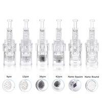 Screw Cartridge Replacement Electric Derma Pen Micro Needle 9  12  36  Nano Needles for MYM Bayonet