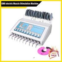 Produtos de emagrecimento Estimulador de fisioterapia de fisioterapia muscular eletrônico reduz a máquina de peso para uso de salão