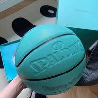 Ti ff a ny c o. X Spalding Merch Balls Basket Balls Edition commemorativa PU gioco ragazza taglia 7 con scatola coperta ed esterna