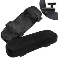 Memory espuma braço de braço assento acessórios de segurança alça removível almofada almofada cotovelo