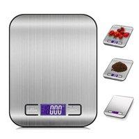 5000 جرام / 1 جرام led الإلكترونية الرقمية المطبخ الموازين متعددة الوظائف الغذاء الفولاذ المقاوم للصدأ lcd الدقة المجوهرات مقياس الوزن التوازن BWA5558