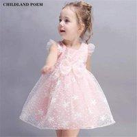 Girl's Dresses Baby Girls Dress Clothes Summer Lace Flower Princess Infant Sleeveless Todder For Girl Kids