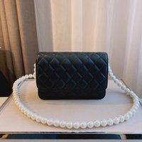 Bolso de diseñador Bolso de bolsas de lujo bolsas de hombro Bolsos 5A + Moda de alta calidad Classic Pearl Messenger Pequeña niña con caja original