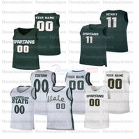 Custom Michigan College Basketball Jerseys 5 Winston 33 Johnson 3 Foster Loyer 0 Aaron Henry 23 Xavier Tillman