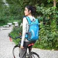 Lightweight Simple Outdoor Cycling Backpacks For Men Quality Nylon Waterproof Women Sport Gym Bag With Helmet Mesh Bag Male Blue