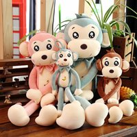 Cute Plush Toy Lovely Stuffed Animal Monkey Doll Birthday Gifts For Kids