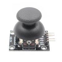 Мини-динамики 5 PIN-код прорывной модуль Щит для PS2 джойстик игровой контроллер 2.54 мм двусторонняя рокер 10к резистор Arduino DIY