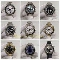 17 Estilo Mens Cronógrafo Assista Cerâmica Bezel Esporte 40mm 116520 116519 116500Ln 116500 Automatic Swiss ETA 7750 Aço Inoxidável Sapphire Glass Glass Watches