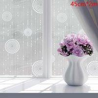 الزجاج الزجاج ملصق نافذة فيلم متجمد تتشبث الحمام مكتب بسيط الخصوصية للماء المطبخ قابل للإزالة ذاتية لاصقة ملصقات