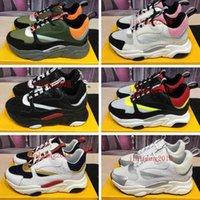 2021 Повседневная обувь Технология вязаные серые кроссовки B22 Спортивная обувь модный дизайнер Холст Кальфскин С.Н. Его. Женские мужчины C AIRAL роскошь 35-45