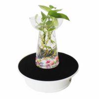 20cm 360 degre Table de platine de table tournante à l'affichage rotatif électrique avec affichage de la lumière LED Light Phone montre batterie Max charge 1k