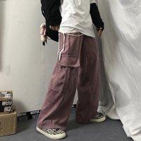 Women's Pants & Capris Wide Leg Overalls High Waist Y2k Harajuku Hip Hop Korean Fashion Oversize Trousers Vintage Streetwear Clothing