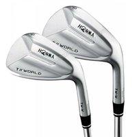 Clubs Honma T // World Golf Wedges Rechtshänder Club Stahlwelle 52 56 60 Loft 3pcs / lot