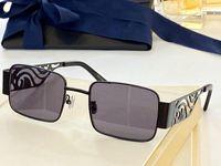 نظارات شمسية للرجال والنساء الصيف نمط مكافحة الأشعة فوق البنفسجية الرجعية الهذيان لوحة الرقيق الإطار الكامل الأزياء النظارات مربع عشوائي
