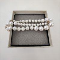 45 cm lange neue produktperle halskette top qualität halskette wilde mode frau halskette exquisite schmuck liefern