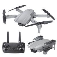E99 Pro2 RC 미니 드론 4K 1080P 듀얼 카메라 WiFi FPV 공중 사진 헬리콥터 접이식 Quadcopter Dron Toys