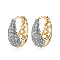 Hoop & Huggie Gorgeous Cubic Zirconia Women Earrings Classic Female Accessories Timeless Style Earring Mother's Gift Shiny Jewelry