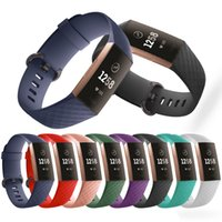 Для Fitbit Charge 3 4 SE SE Наручный ремешок Smart Watch Soft Backband Recornate SmartWatch Band