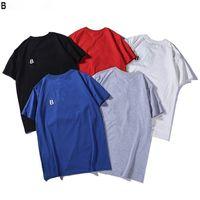 Mens T shirt Casual N ew Men's Designer Short Sleeve T-shirt 100% Cotton High Quality Wholesale Black and White Size M~3XL H05