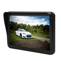 "2021 9 ""дюймовый автомобильный грузовик GPS-навигация с Bluetooth AV-в FM 8GB Sun Shame Shate Visor Capactive экран GPS-навигатор"