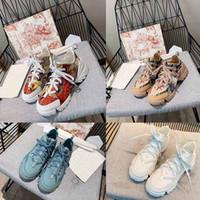 2021 Son Lace Up Rahat Lüks Ayakkabı Yüksek Kalite Unisex D Bağlı Neopren Sneakers Kadın PVC Şeffaf Plastik Blok Elbise Ayakkabı Moda Çift Sneaker