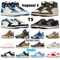 Travis frammento Athletic Shotts Scotts X Mens Outdoor Mobili Militare Blu Cactus Jack Dunks Costa UNC Chunky Dunky Orso Orso Arancione Playstation Sail Donne Jogging Basamer Sneakers