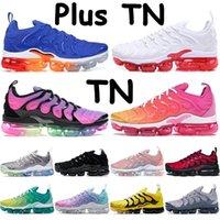 Pink sea plus tn running shoes mens sneakers voltage purple black noble red triple red white lemon lime wolf grey dark grey trainers