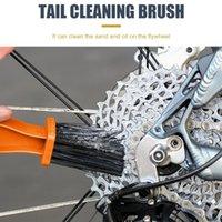 Strumenti Moto Bike Bry Brush MTB Bicycle Scrubber Strumento di pulizia Arancione Pulitore all'aperto Bisiklet