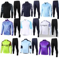 Manchester 2021 sportswear football jersey 20 21 22 G.JESUS CITY STERLING FERRAN DE BRUYNE KUN AGUERO l shirt MAN With training jacket set