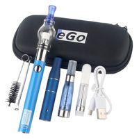 UGO-VII 4 em 1 Kit Ecegarette com CE4 Cartucho de Célula de Vidro Abranoso Seco Herb Globe Óculos Atomizadores Dabber Brush Tool