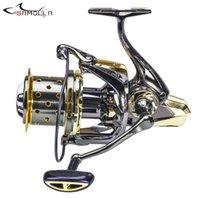 2021 Fishing Reel Full Metal Spinning Reels Carp 16+1BB Carretel Peche De La Carpe Fish Weight 600g Moulinet Peche En Mer H1014