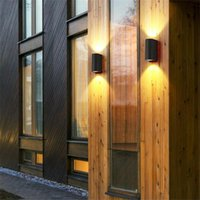 Outdoor Wall Lamps 10W Light Staircase Aisle Indoor Waterproof Led Lamp Modern Creative Courtyard Balcony