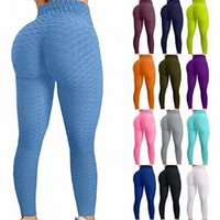 Famous TikTok Leggings Yoga Pants for Women High Waist Tummy Control Booty Bubble Hip Lifting Workout Running Tights N0vYHAP