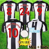 2021 2022 NUFC Футбол Футбол Шелви 22 22 22 Joelinton Футбольная рубашка Almiron Ritchie Gayle Equipment Men Kits Kits